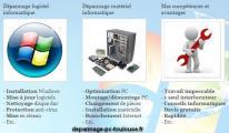 Depannage informatique à domicile Toulouse