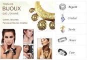 Des bijoux à petits prix en argent, acier, cristal et cuir