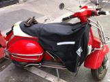 Scooter LML Star rouge avec selle blanche