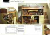 Lit mezzanine bureau rangements