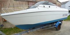 bateau leader 5m50 prêt à naviguer