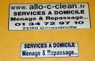adhesif lettrage et logos pour auto vitre eneigne panneaux
