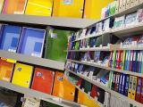 palettes fournitures scolaires et de bureau