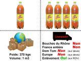 Déstockage Liptonic Ice tea : Saveur agrumes 1,5 L