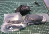 Vends : lot de 3 souris noire usb optique 3 boutons Dell