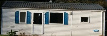 Mobil-home 4-6 pers, à Arzal