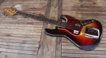 1961 Fender Jazz Bass Guitare