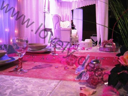 decoration mariage oriental, location de matériel à Reims