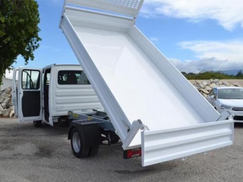 camion benne iveco daily 35c10 double cabine  u00e0 auxerre